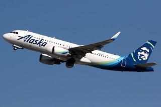 Alaska Airlines | Airbus A320-200 | N282VA | Los Angeles International