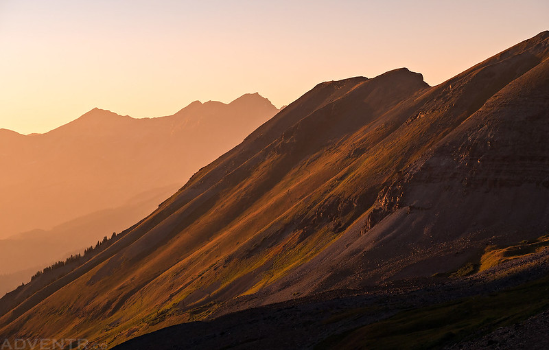 Ajax Peak Sunset