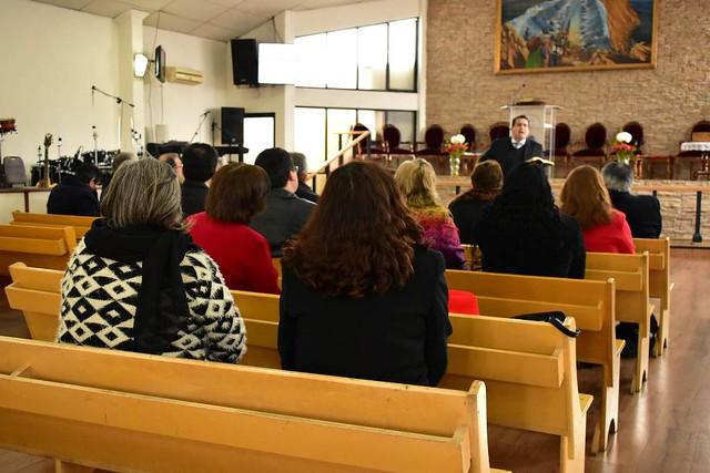 Reunión de Pastores Sector N°9 en Iglesia La Florida- Avenida México