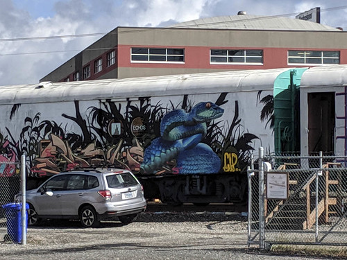 2019-09-13 A painted train!