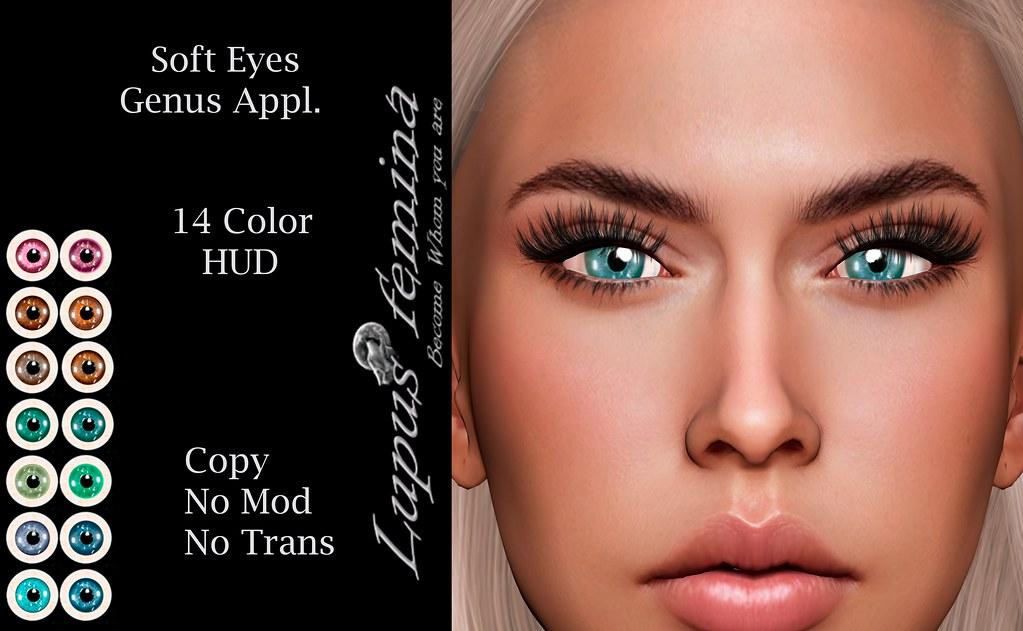 """""""Lupus Femina"""" Soft Eyes – Genus & Omega"""
