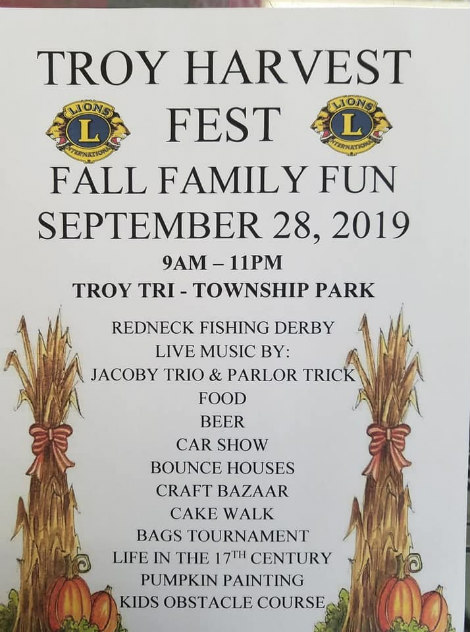 Troy Harvest Fest 9-28-19