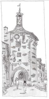France, Cantal, Salers