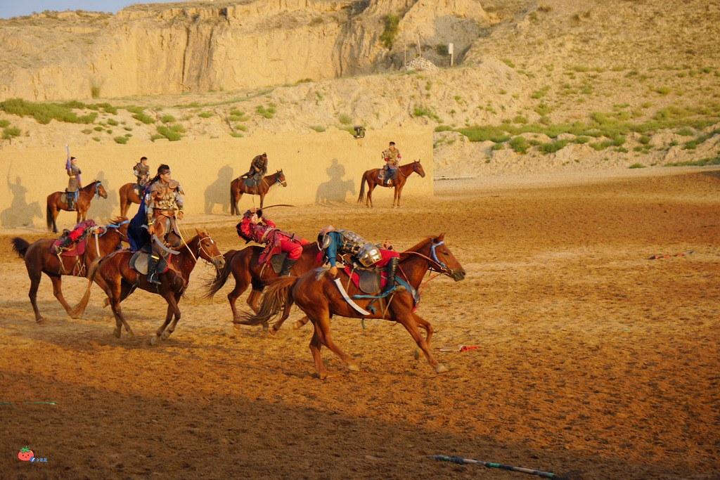 寧夏景點推薦沙波頭北疆天歌秀