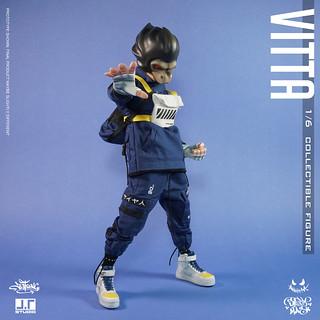 J.T Studio Street Mask 系列【VITTA】1/6 比例人偶作品