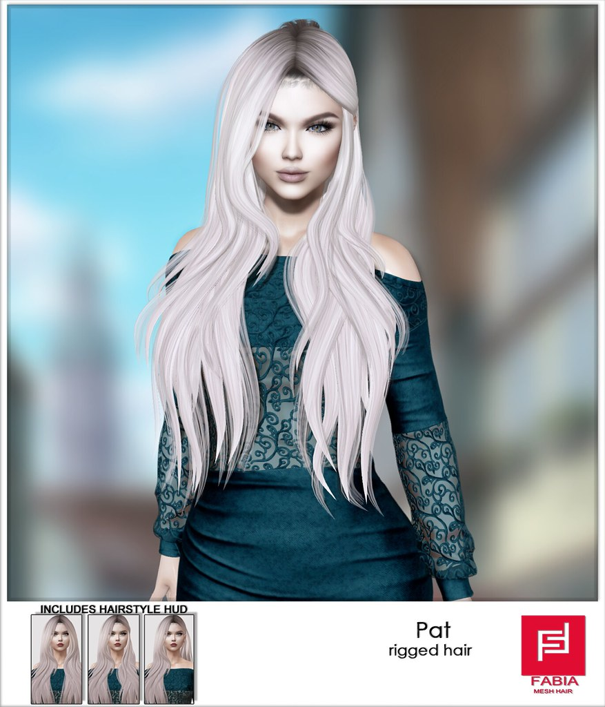 New!  FABIA- Hair  Pat