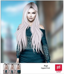 New!  FABIA- Hair  Pat