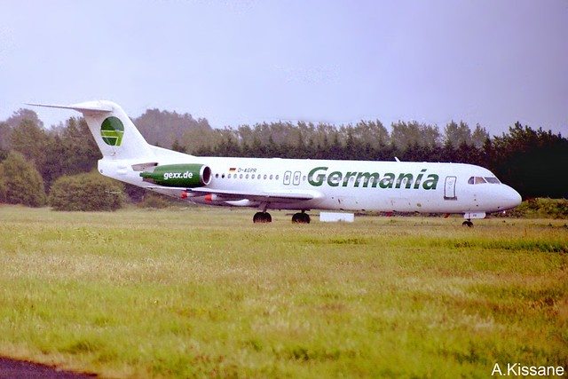 GERMANIA F100 D-AGPR
