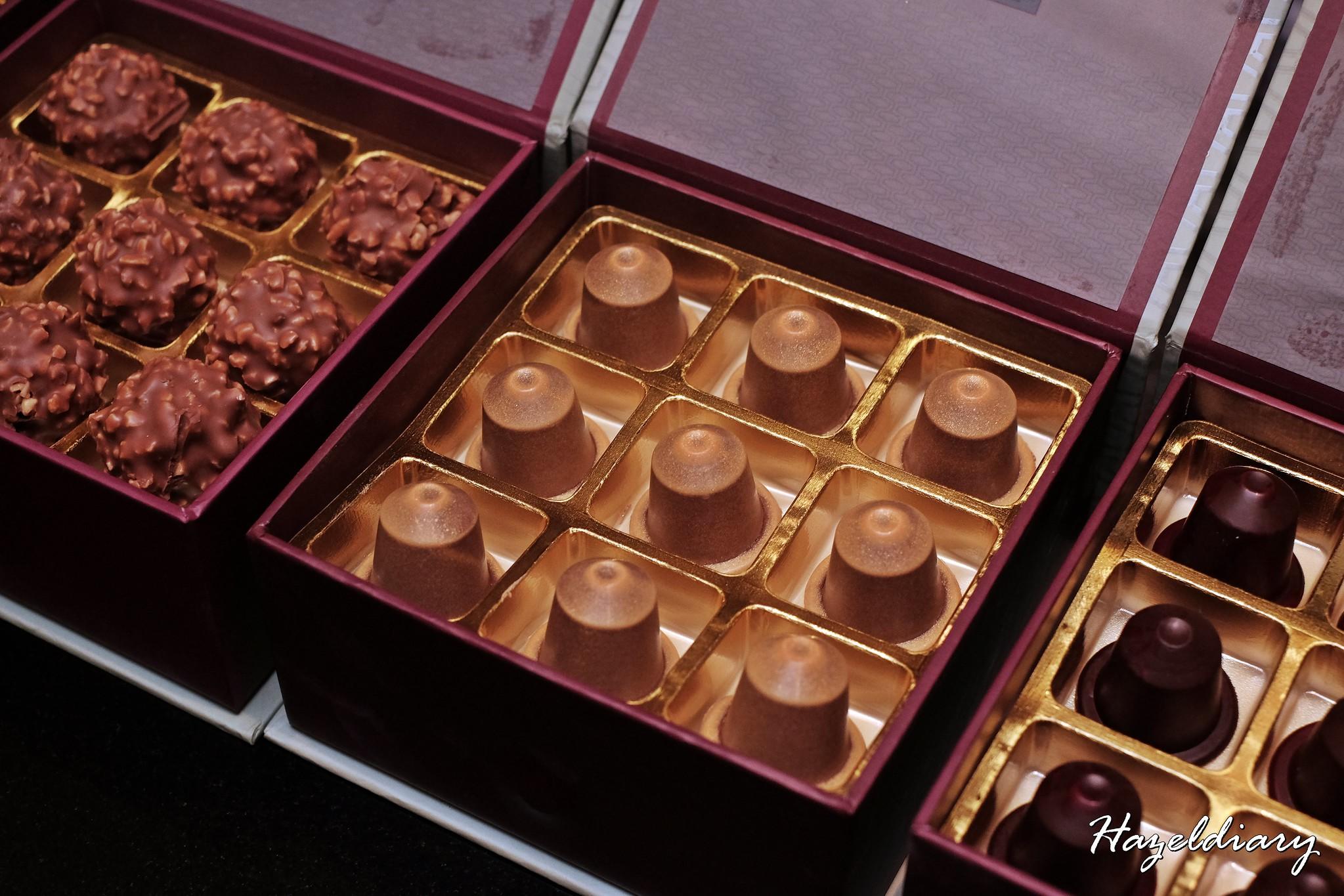 D9 Cakery of Hilton Singapore- Valrhona bonbon creations-1
