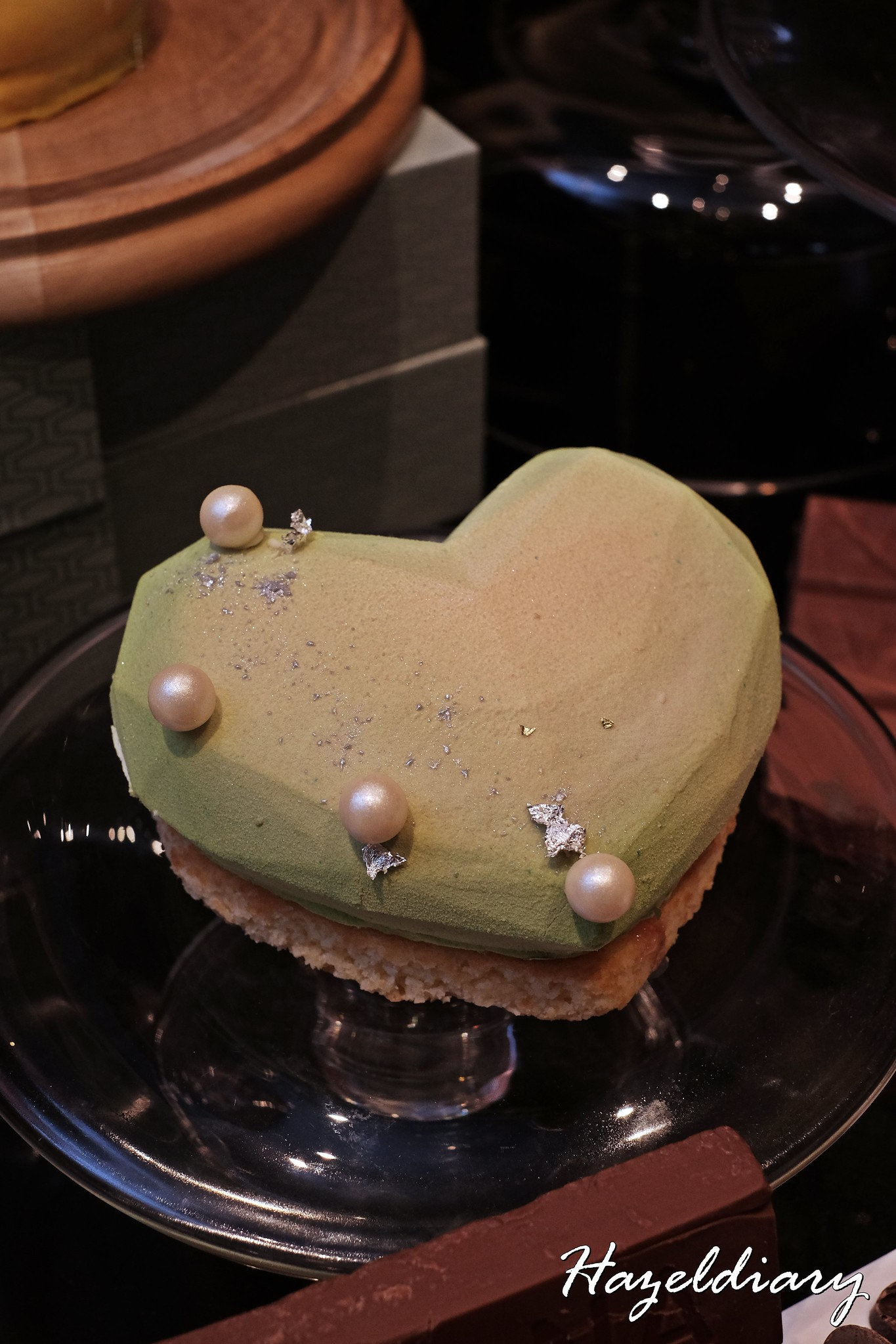 D9 Cakery of Hilton Singapore- Rhubarb Origami Amour