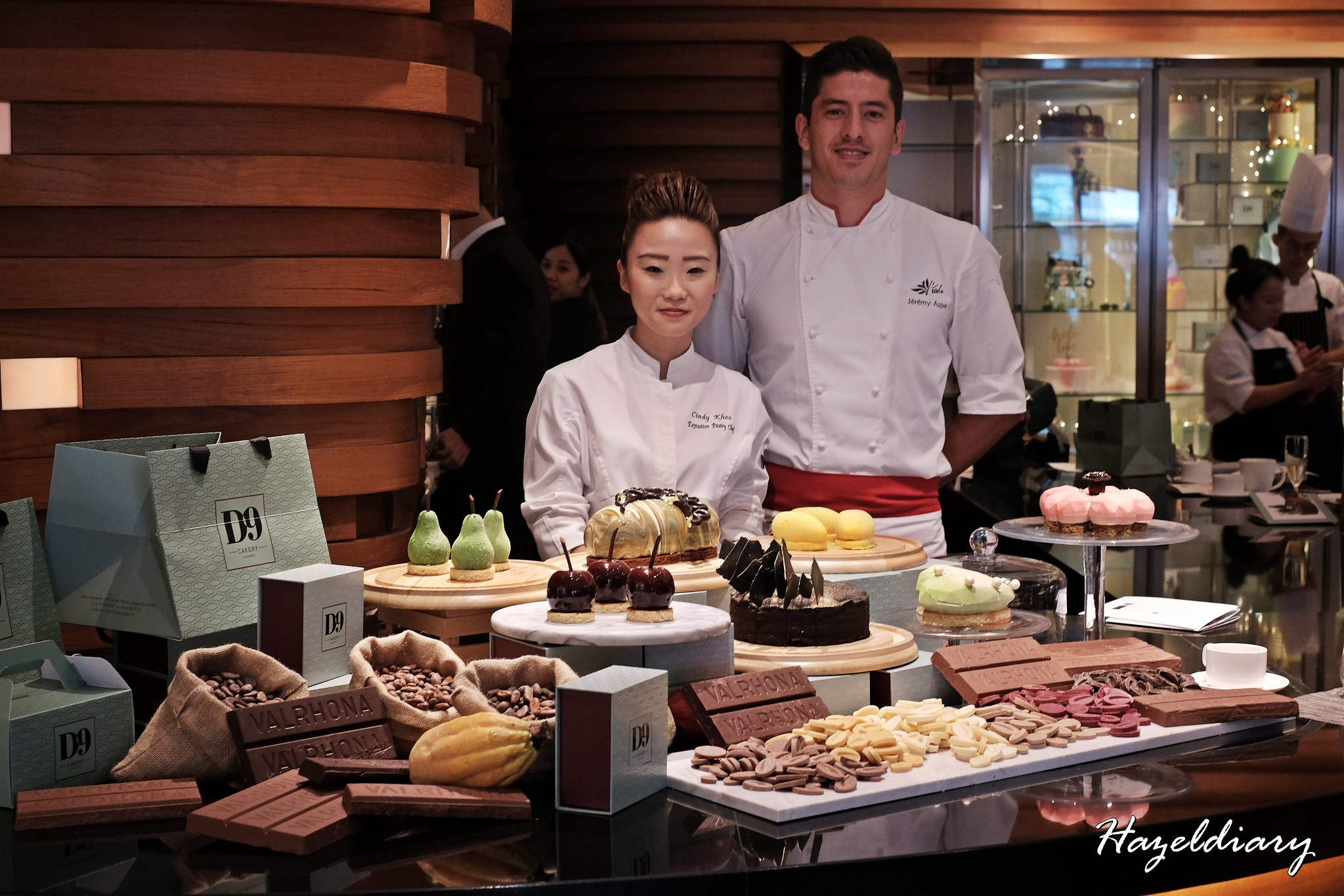 [SG EATS] D9 Cakery of Hilton Singapore X Valrhona New Premium Cocoa Inspired Collection