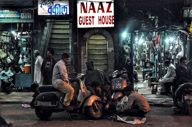 A typical scene from Old Delhi.