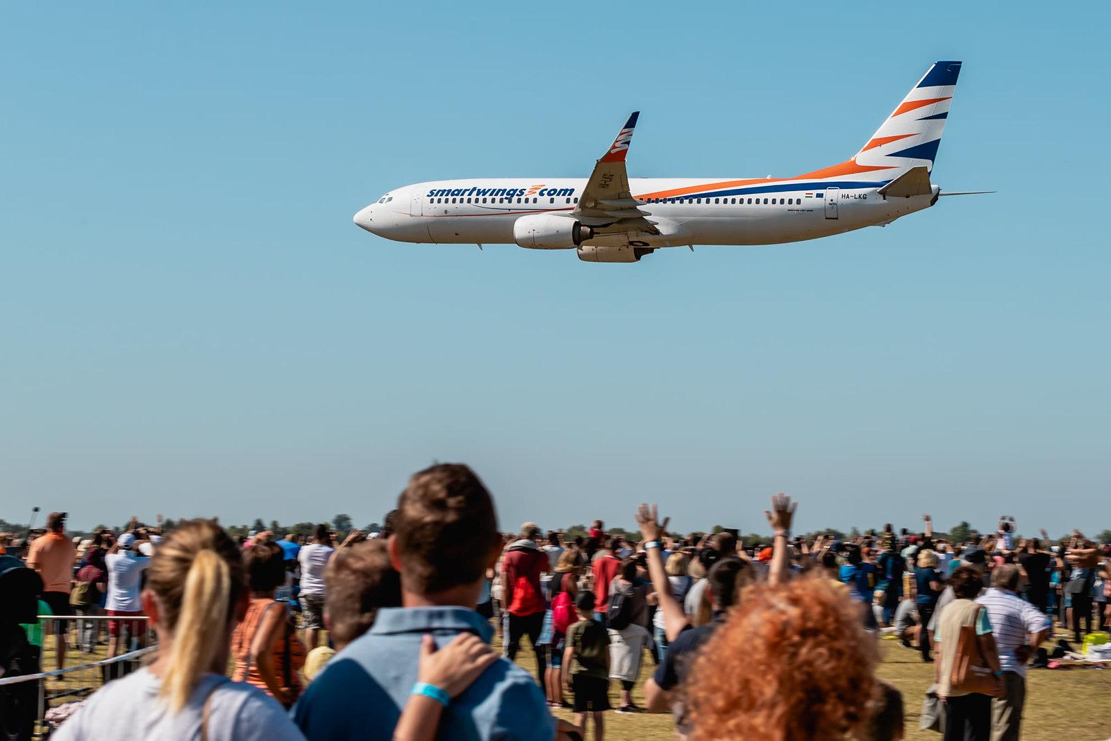 25 ezren voltak az idei légiparádén