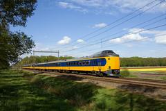 NS ICM3 4232 + IC-3  - IC 551 Rotterdam centraal - Groningen  - Hooghalen