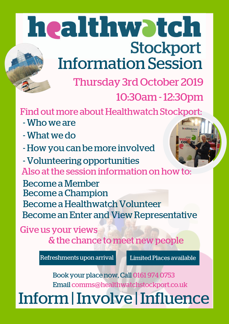 new info session 3rd October 2019