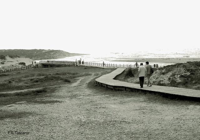 Praia de Baldaio. A Coruña.