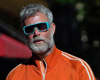Salt & Pepper with Aqua Sunglasses