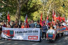 """""""Aussteigen"""" – Proteste gegen die IAA in Frankfurt"""