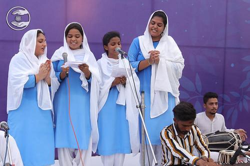 A group song by Mini Chhabra and Saathi, Barnala, PB