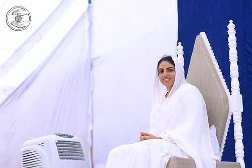 Her Holiness's Arrival on the Holy Dais