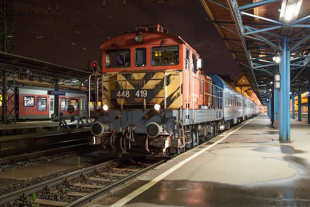 MÁV M44 448 419 Budapest Keleti
