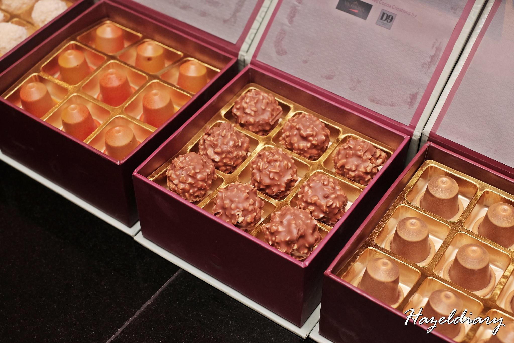 D9 Cakery of Hilton Singapore- Valrhona bonbon creations