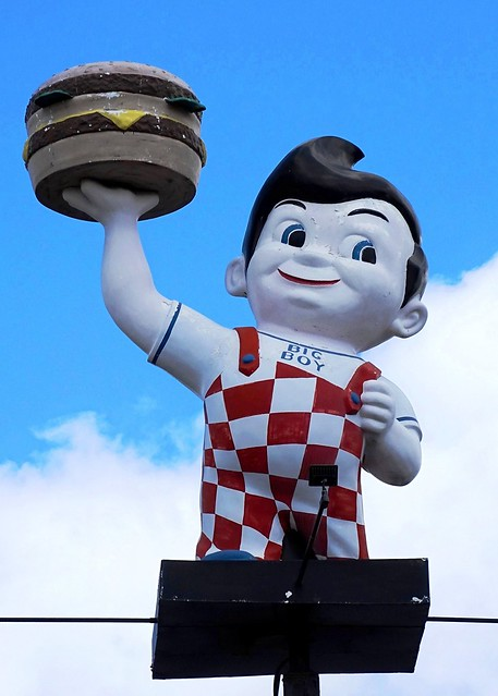 MI, West Branch-Big Boy Restaurant Mascot