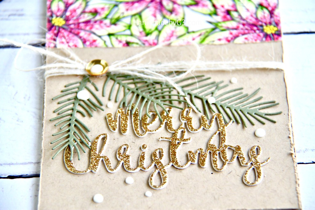 SSS Merry Christmas card #1 closeup3