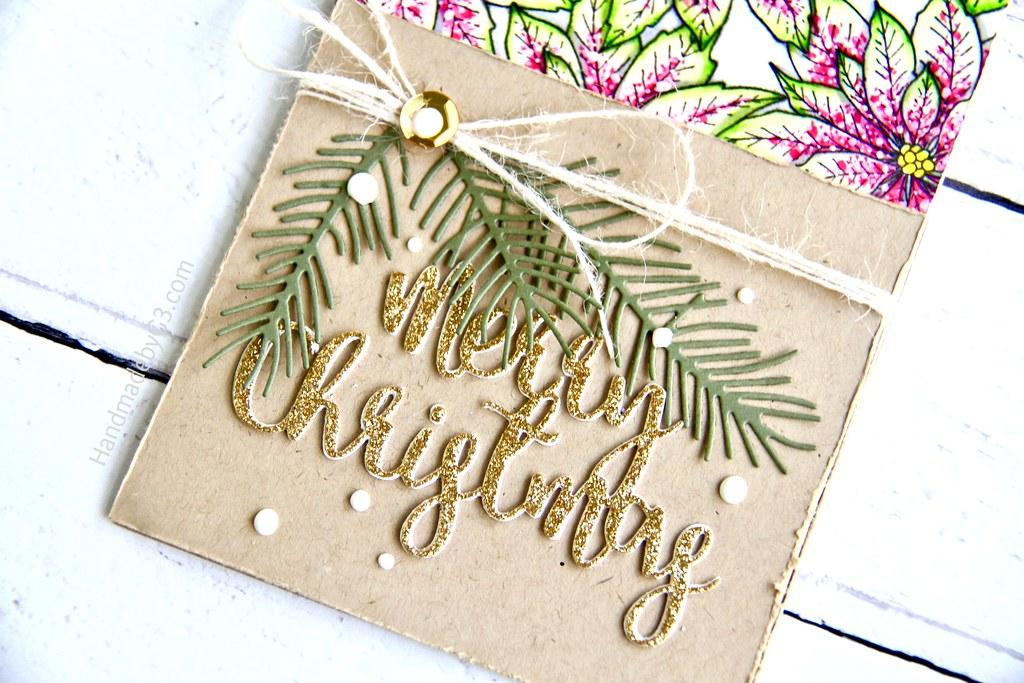 SSS Merry Christmas card #1 closeup1