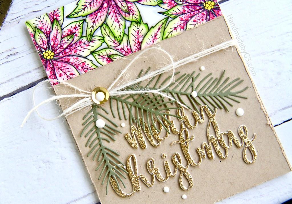 SSS Merry Christmas card #1 closeup