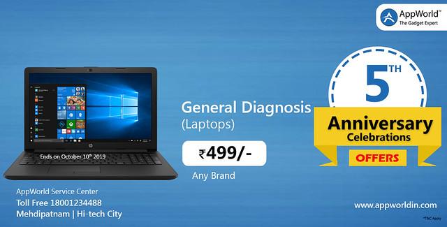 laptop diganosis.