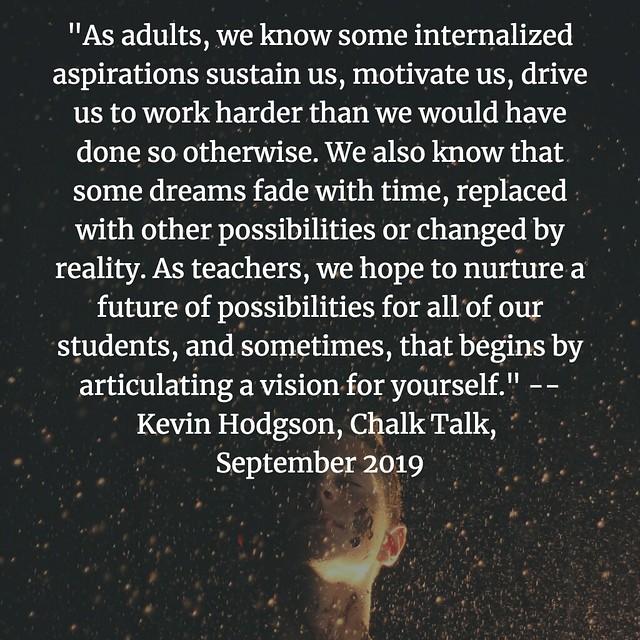 Chalk Talk Quote Sept19