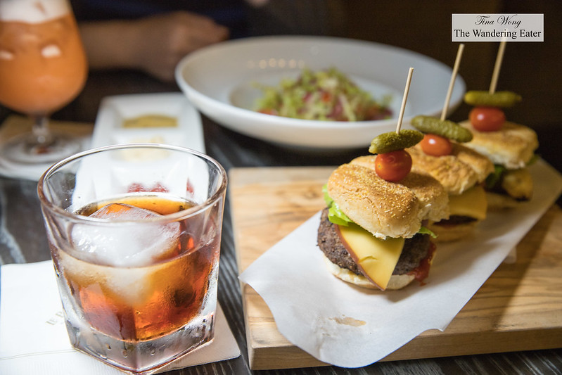 Sliders and Vieux Carre