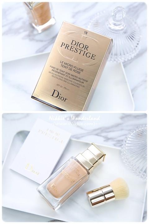Dior迪奧 精萃再生花蜜 微導粉底