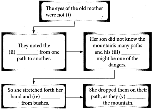 Tamilnadu Board Class 10 English Solutions Supplementary Chapter 4 The Aged Mother - 5