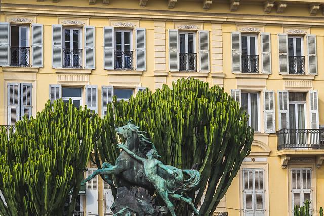 France - Cannes - Boulevard de la Croisette