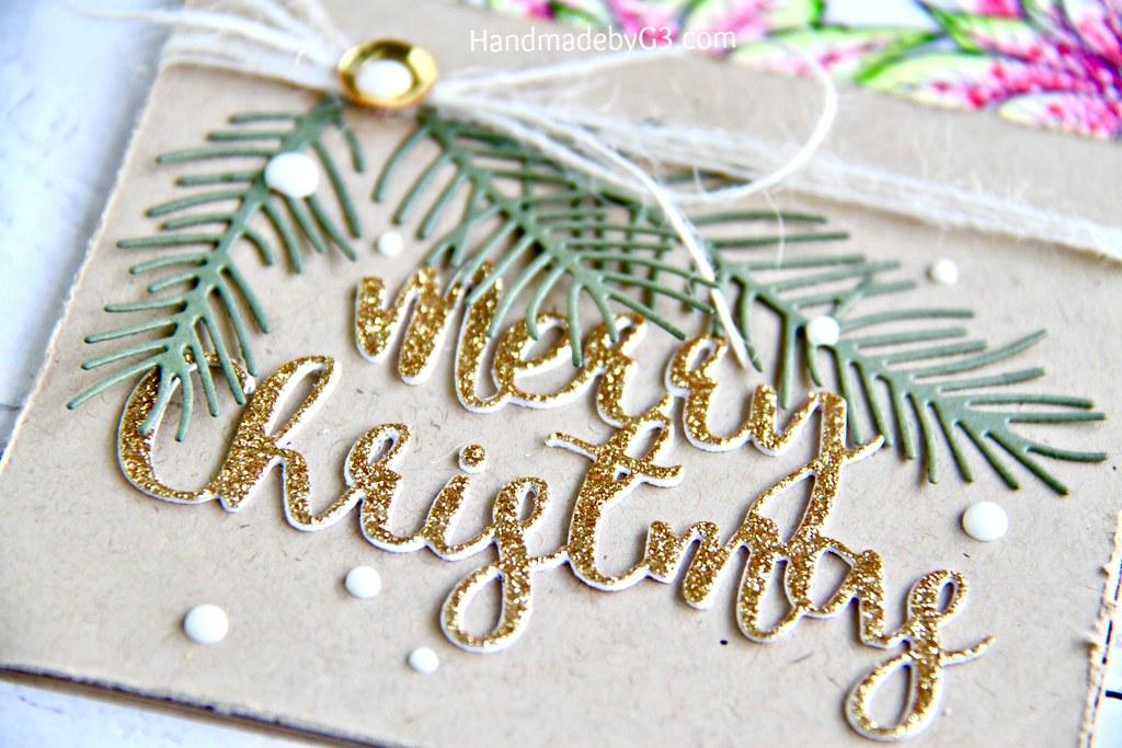 SSS Merry Christmas card #1 closeup2