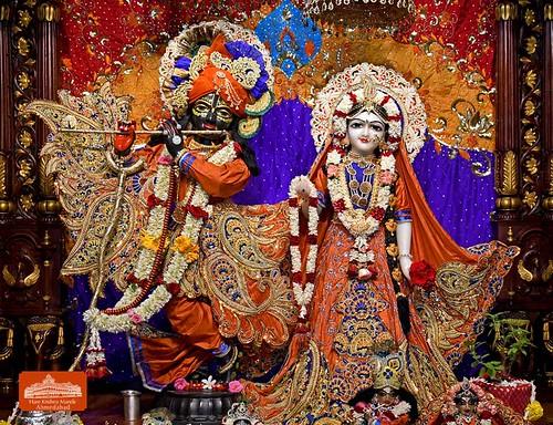 Hare Krishna Temple Ahmedabad Deity Darshan 16 Sep 2019