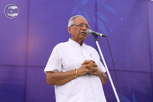 SP Duggal Zonal Incharge thanked Satguru