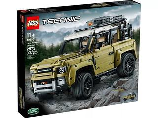 「官圖&販售資訊完整更新」硬派越野魂再燃!! LEGO 42110 科技系列【Land Rover Defender】