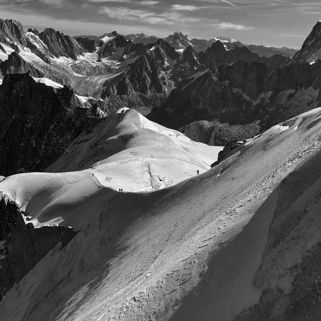 The French Alps_BW