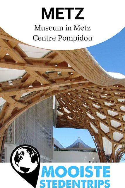 Metz voor kunstliefhebbers: Centre Pompidou Metz | Mooistestedentrips.nl