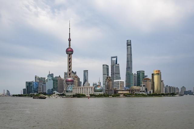unterwegs in Shanghai