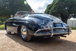 Concours of Elegance 2019, Hampton Court - 1957 Porsche 356A Speedster (469 UYU)