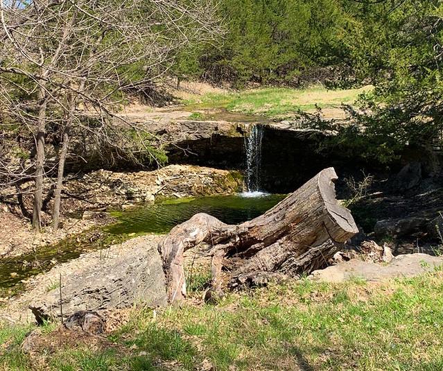 Springtime at Alcove Springs Kansas