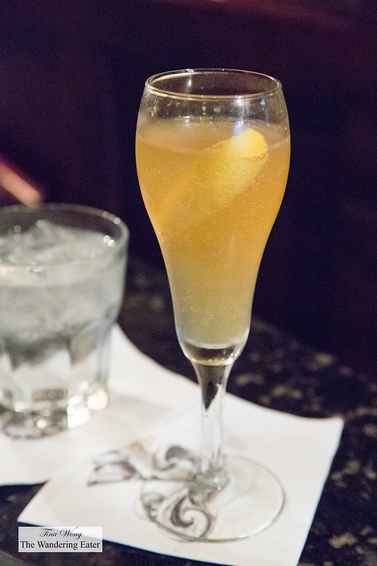 Arnaud's French 75 - Courvoisier VS, Sugar, Lemon Juice, Moët & Chandon