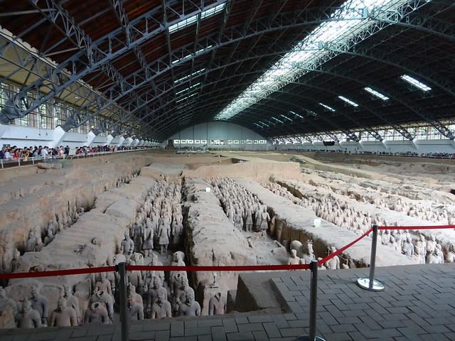 Mausoleum Qin Shihuangdis - Terracotta Warriors