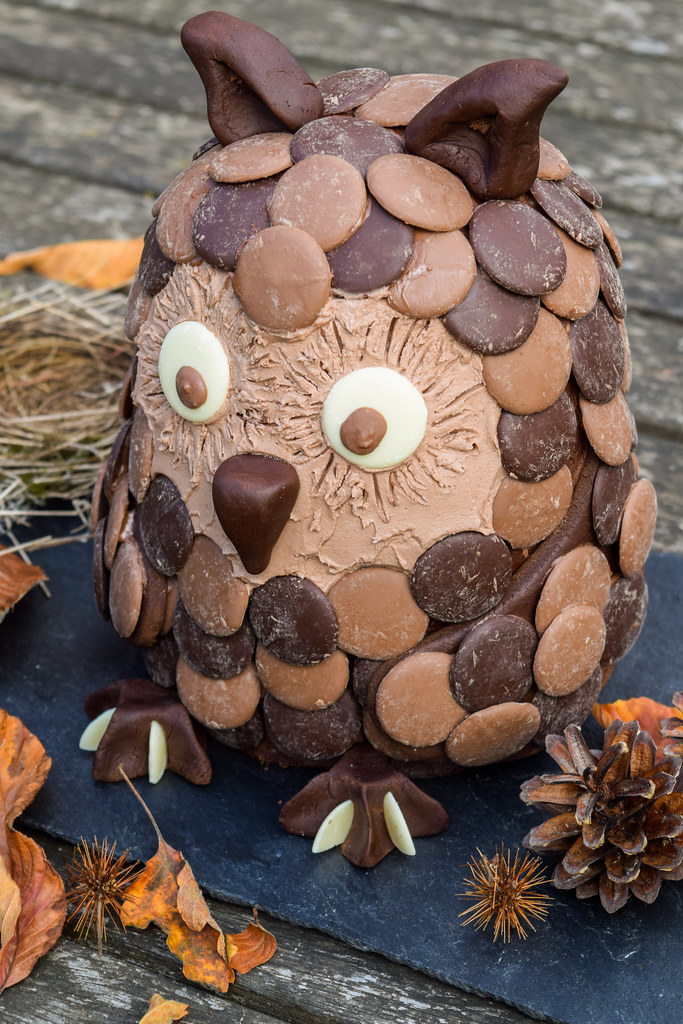 How To Make A Chocolate Orange Owl Halloween Novelty
