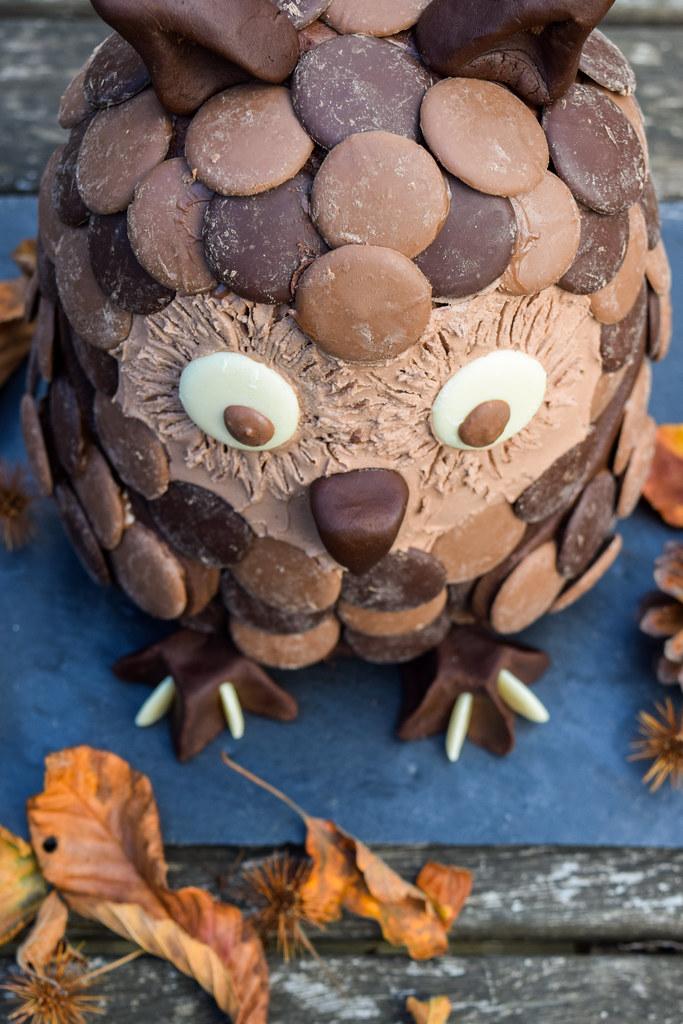 How To Make A Chocolate Orange Owl Halloween Cake