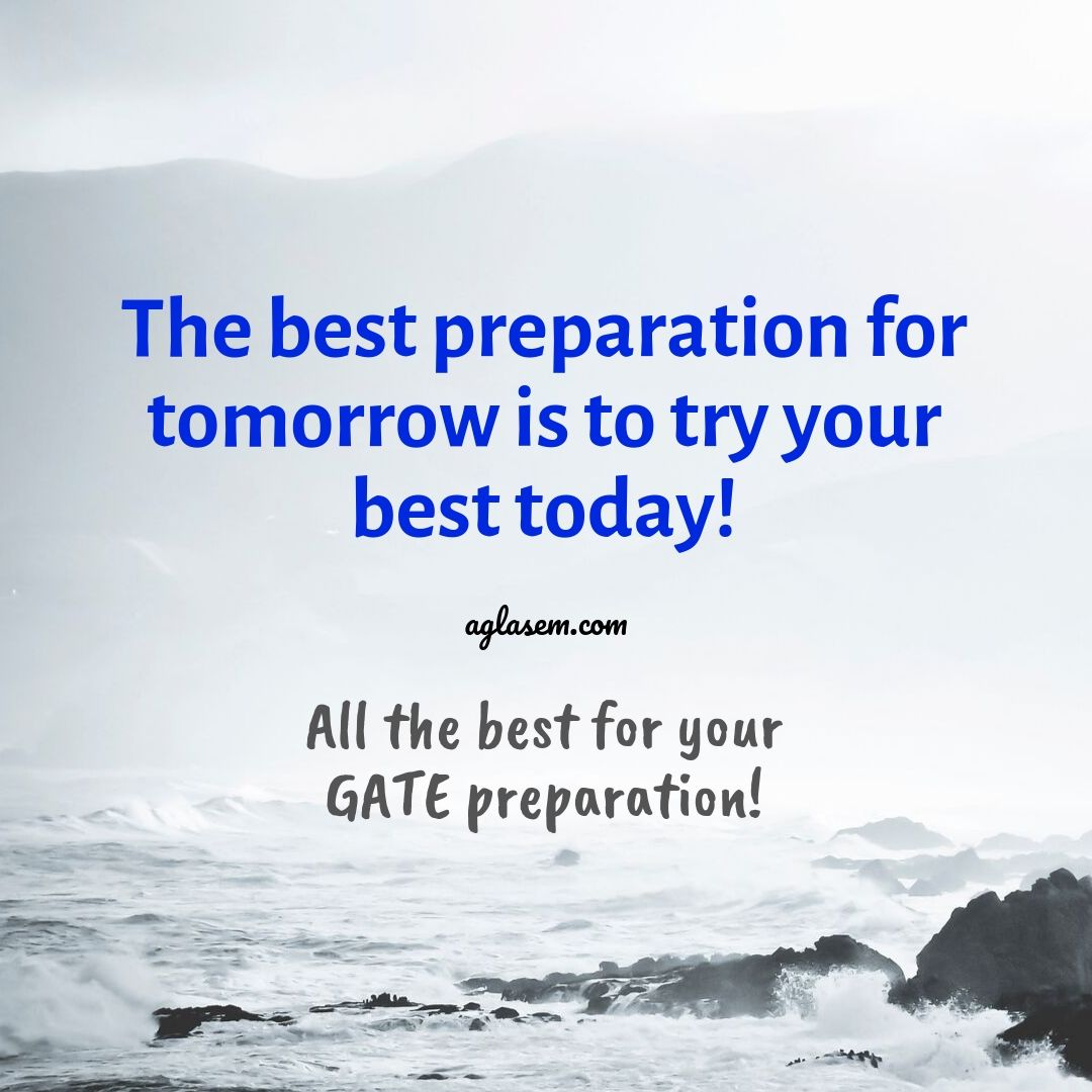 GATE 2021 Preparation